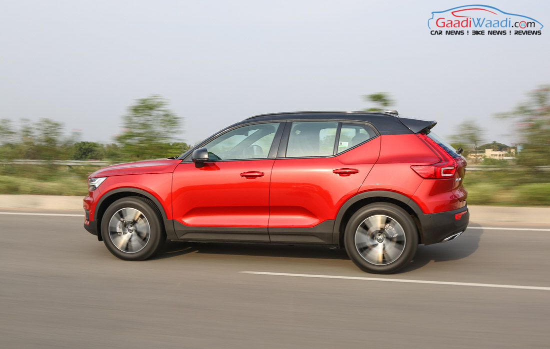 2018 volvo xc40 launched in india price specs features review. Black Bedroom Furniture Sets. Home Design Ideas