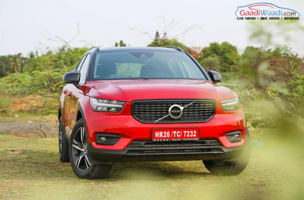 Volvo XC40 SUV R-DESIGN RED India-25