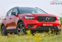 Volvo XC40 SUV R-DESIGN RED India-27