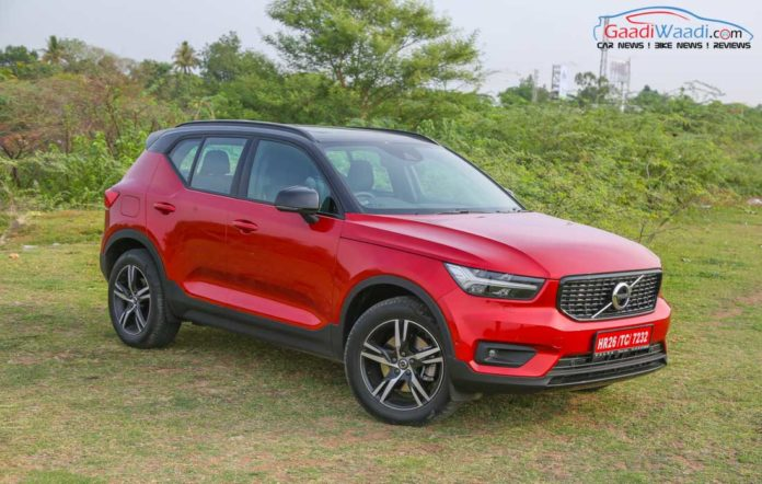 Volvo XC40 SUV R-DESIGN RED India-28 (volvo xc40 booking)