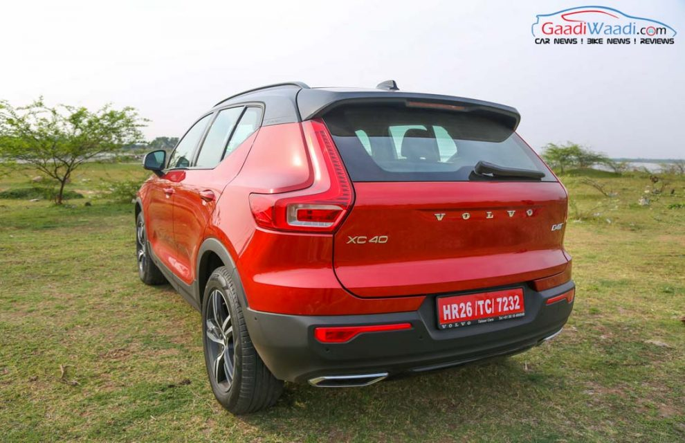 Volvo XC40 SUV R-DESIGN RED India-29