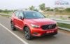 Volvo XC40 SUV R-DESIGN RED India-5