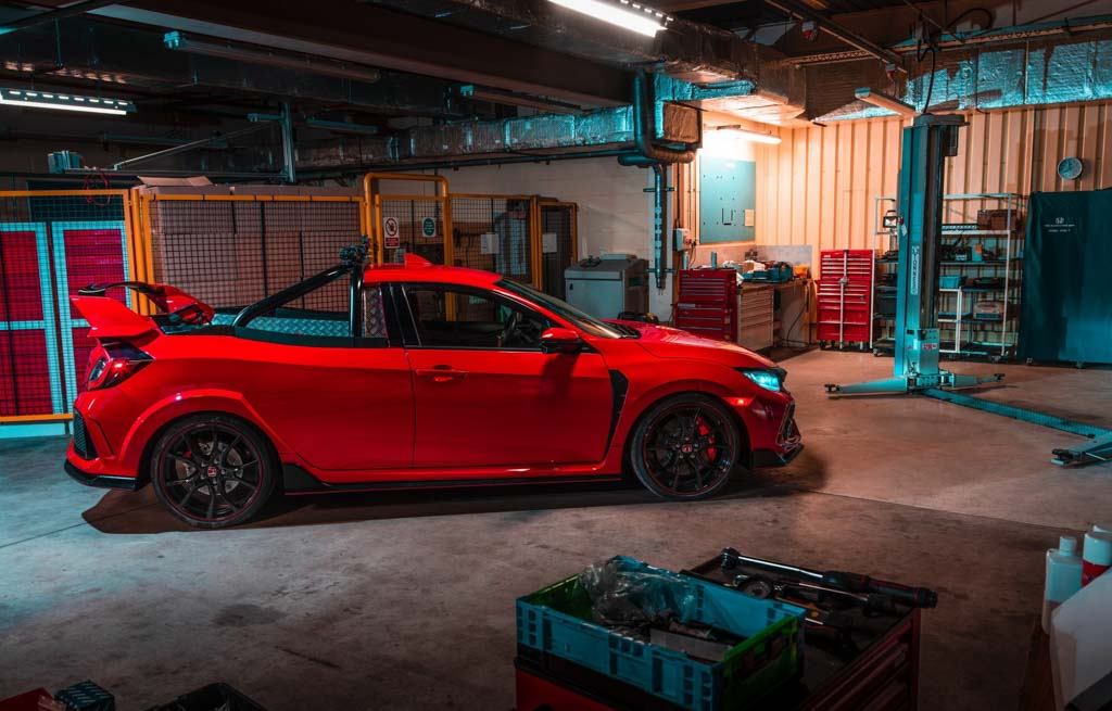 Honda has built a Civic Type R ute
