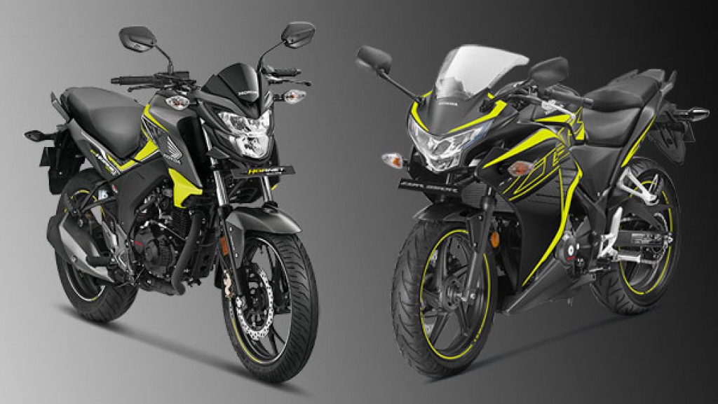 2018-Honda-Hornet-160R-and-CBR-250-R-launched-in-India (2018 cb hornet 160r price hike)