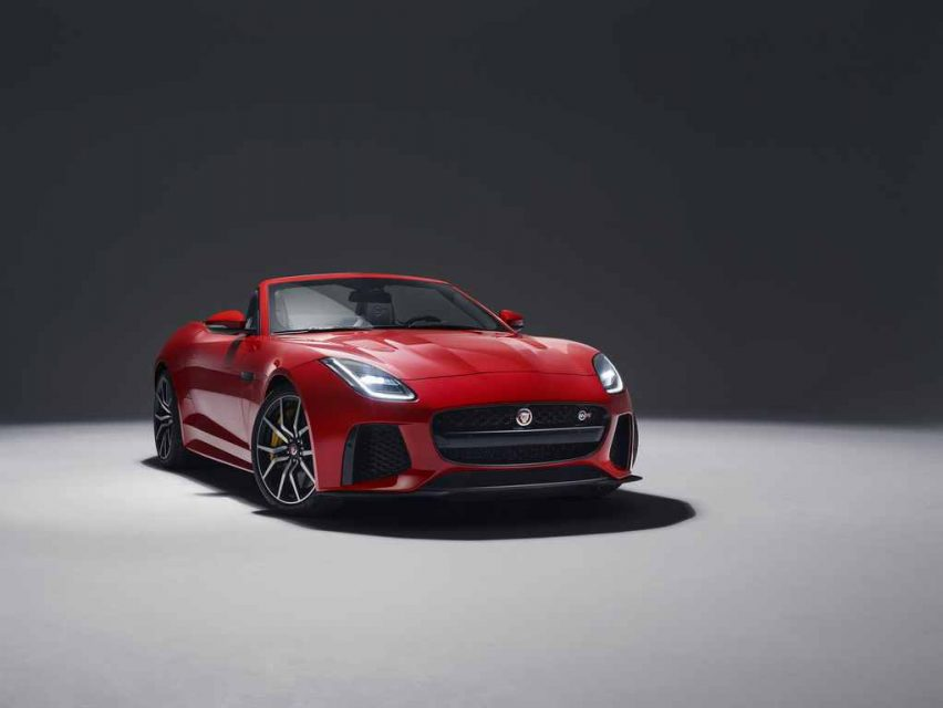 2018 Jaguar F-Type SVR Launched In India - Price, Engine, Specs, Features, Interior, Performance 2