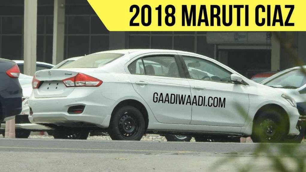 2018 Maruti Ciaz Facelift 1.5L Petrol Hybrid Engine 1