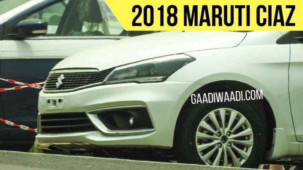2018 Maruti Ciaz Facelift 1.5L Petrol Hybrid Engine 2