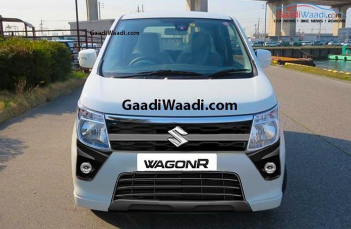2018 Maruti Suzuki Wagon R Rendered 1