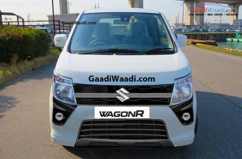 2018 Maruti Suzuki Wagon R Rendered