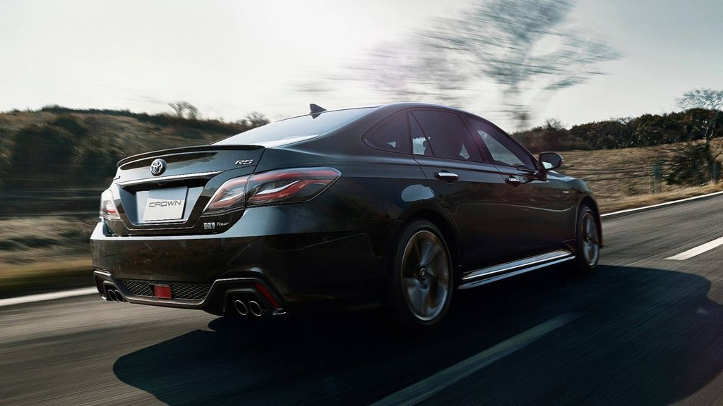 New Toyota Crown Flagship Sedan Is Less Expensive Rolls