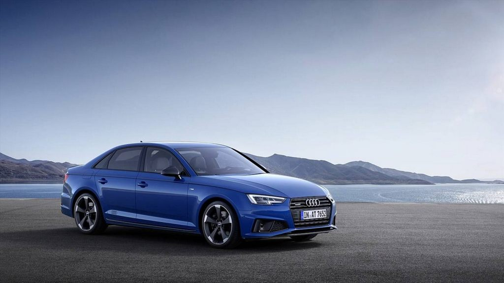 india bound 2019 audi a4 facelift revealed with styling. Black Bedroom Furniture Sets. Home Design Ideas
