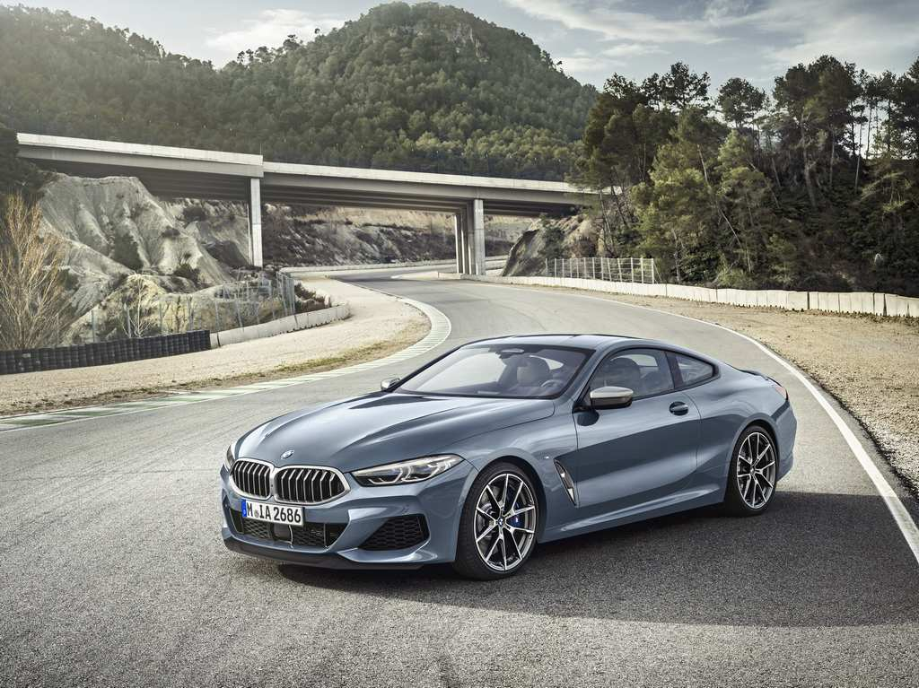 2019 BMW 8-Series Coupe Front