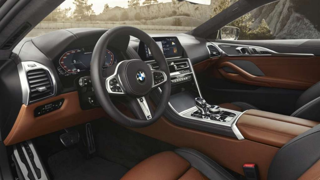 2019 BMW 8-Series Coupe Interior