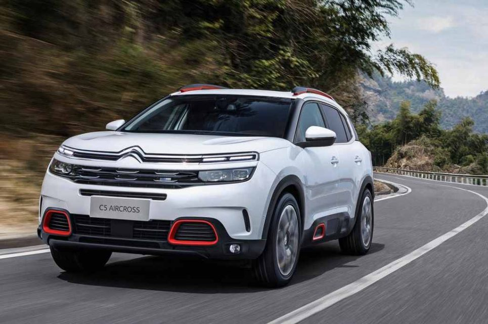 2019 Citroen C5 Aircross India