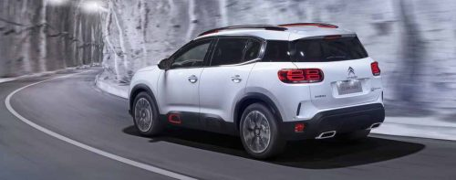 2019 Citroen C5 Aircross India Running Shot