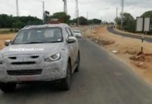 2019 Isuzu MU-X Facelift Spied - India Launch, Price, Specs, Features, Interior, Design