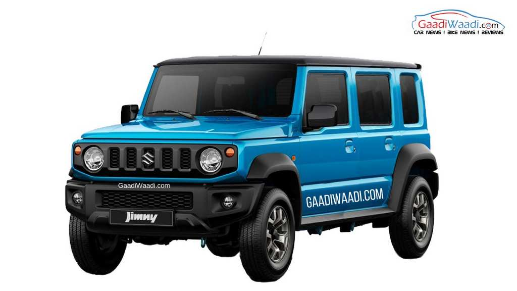 All New Jimny Suv Could Become Reality In India In 4 Door