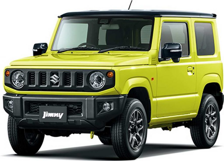 new suzuki jimny convertible rendered with bold styling. Black Bedroom Furniture Sets. Home Design Ideas