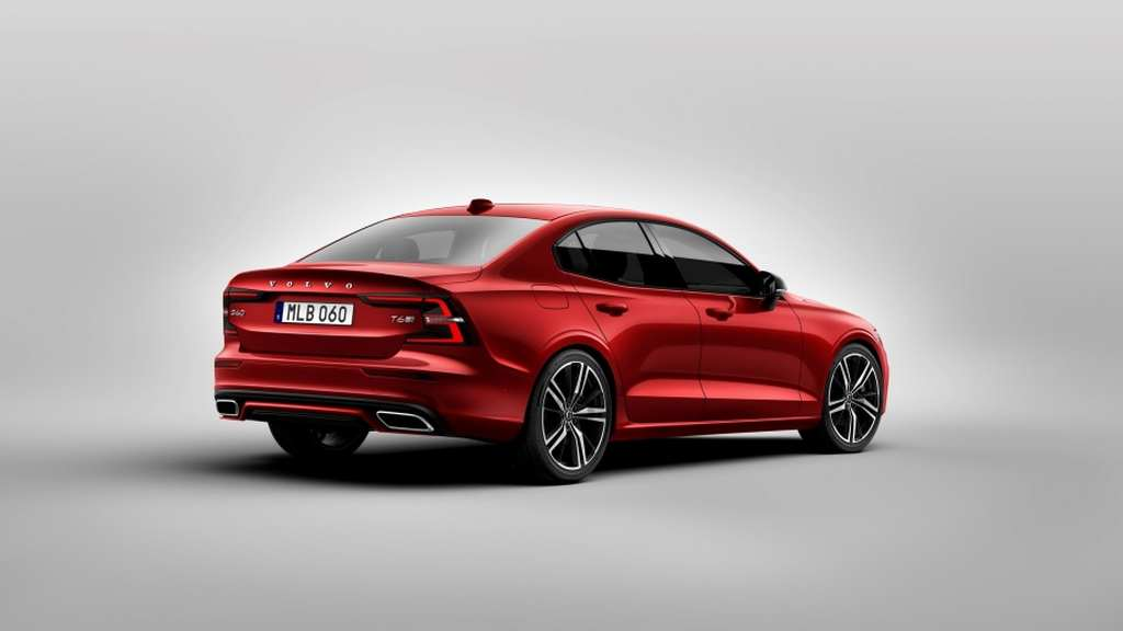 India Bound 2019 Volvo S60 Unveiled Gets New Design And More Tech