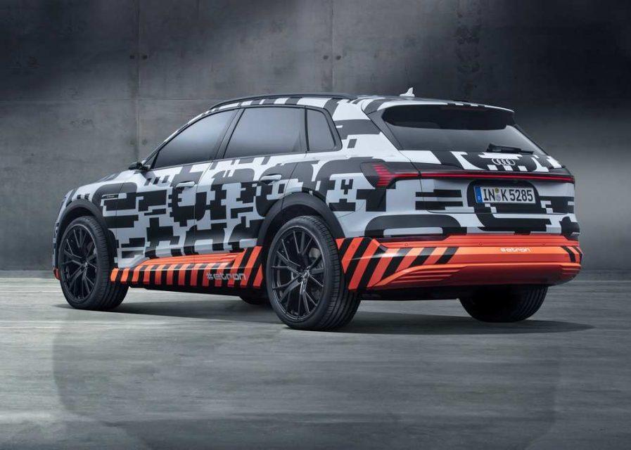 India Bound Audi E Tron SUV