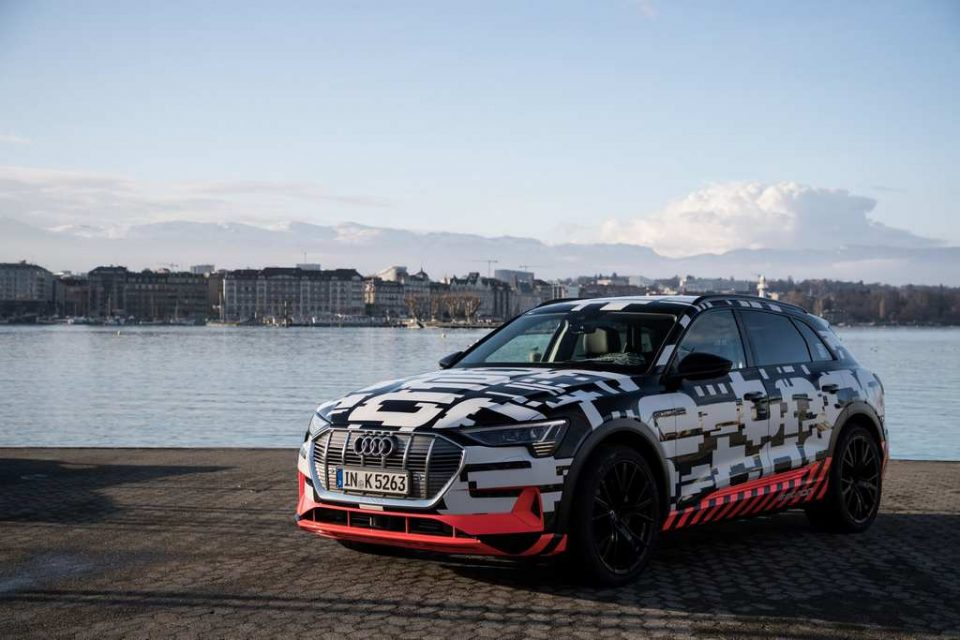 Audi E-Tron SUV 2