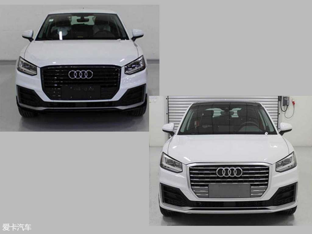 audi q2 l long wheelbase leaks online completely undisguised. Black Bedroom Furniture Sets. Home Design Ideas