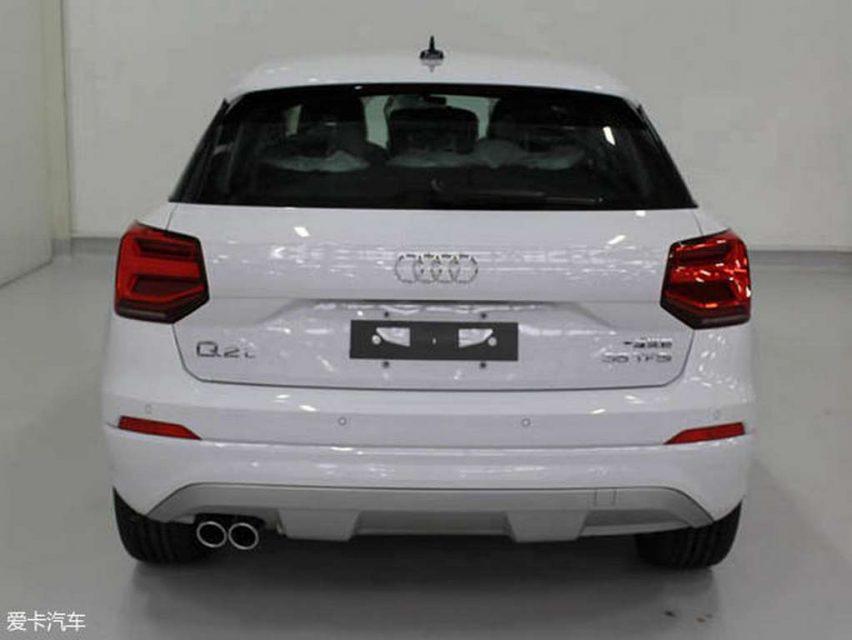 Audi Q2 L SUV Rear