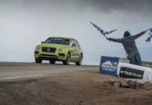 Bentley-Bentayga-set-record-pikes-peak-hill-climb-4