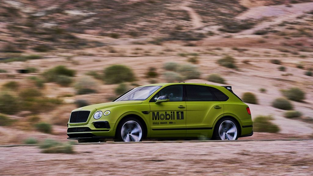 bentley bentayga is the fastest production suv at pikes peak hill climb. Black Bedroom Furniture Sets. Home Design Ideas