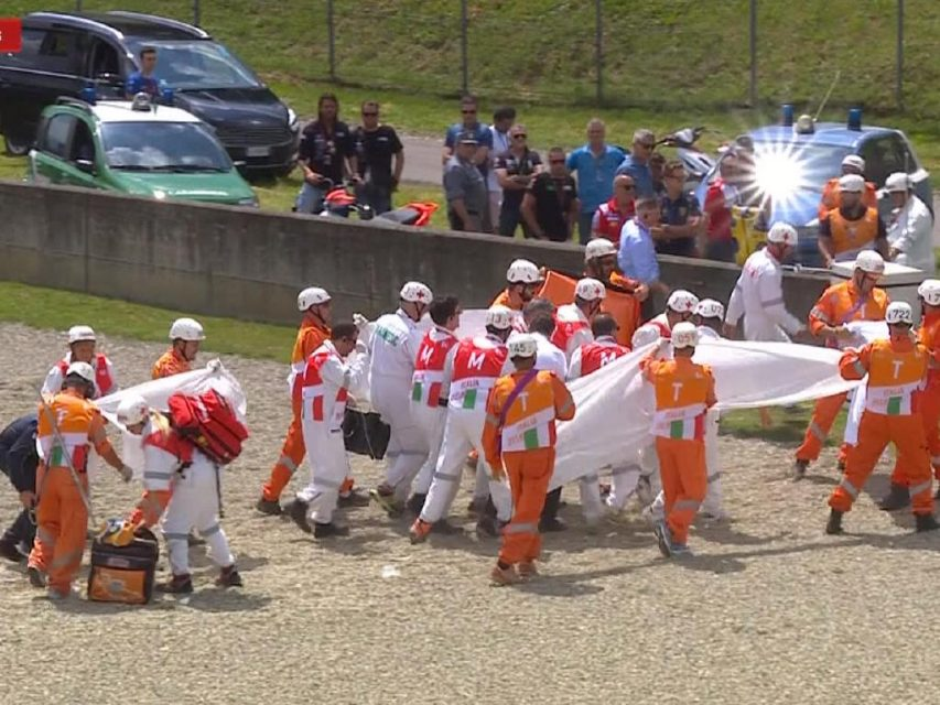 Ducati Rider Michele Pirro Involved In Horrific MotoGP Crash 5