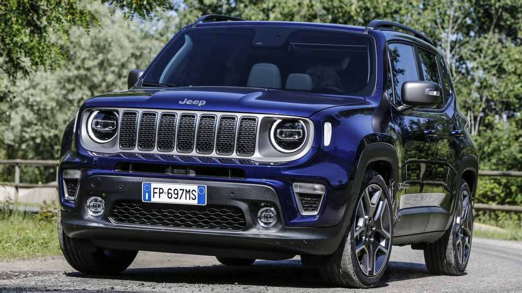 India-Bound 2019 Jeep Renegade Facelift Europe