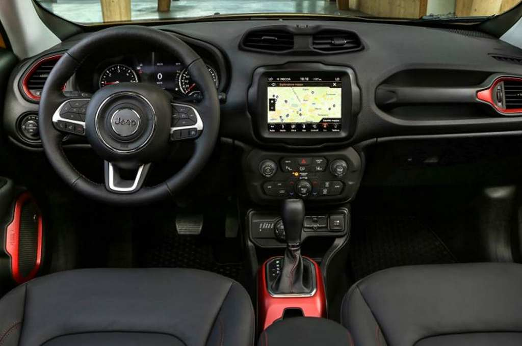 India bound 2019 jeep renegade gets trailhawk version with - Jeep renegade trailhawk interior ...