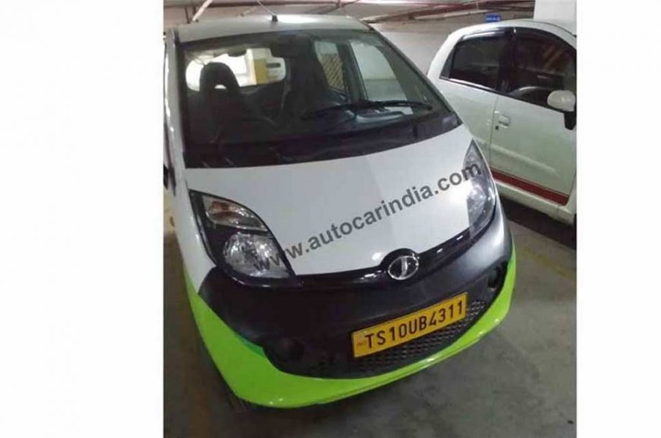 Jayem Neo EV Tata Nano Electric Version Spied As Part Of Ola Fleet 2
