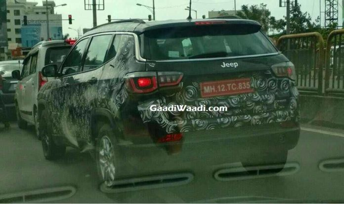 Jeep Compass Trailhawk Spied Testing Ahead Of Launch