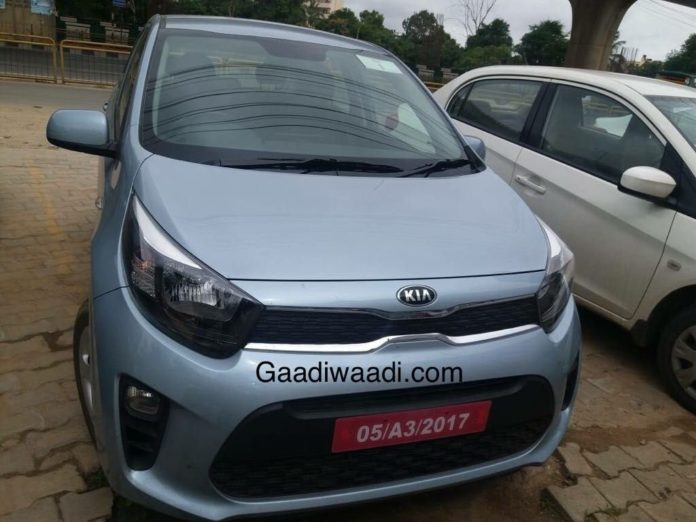 Kia-Picanto-Spied-in-India-1