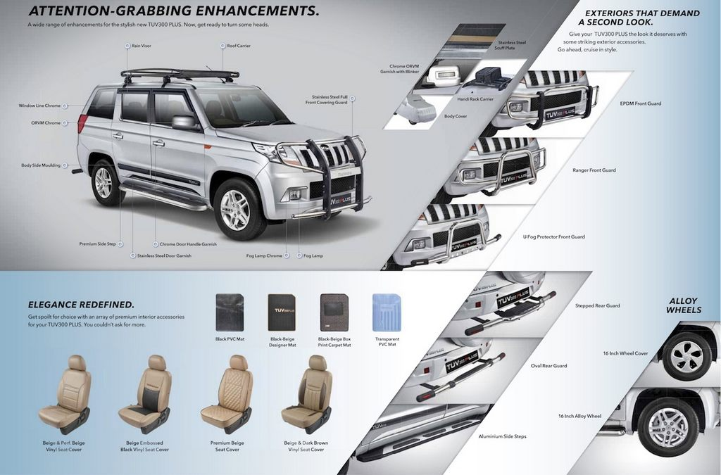 Mahindra TUV300 Plus Accessories 1