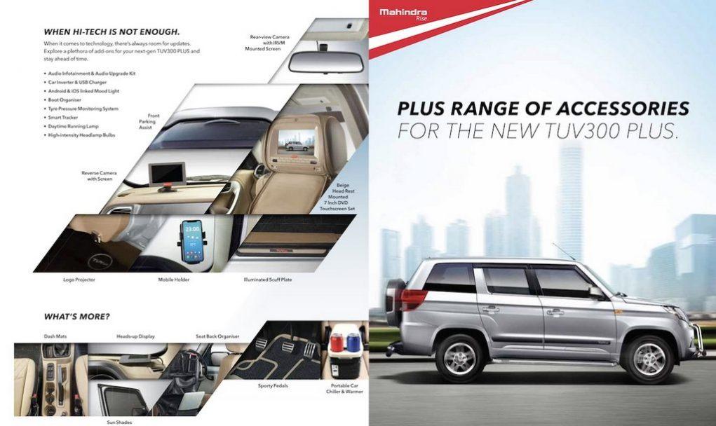 Mahindra TUV300 Plus Accessories
