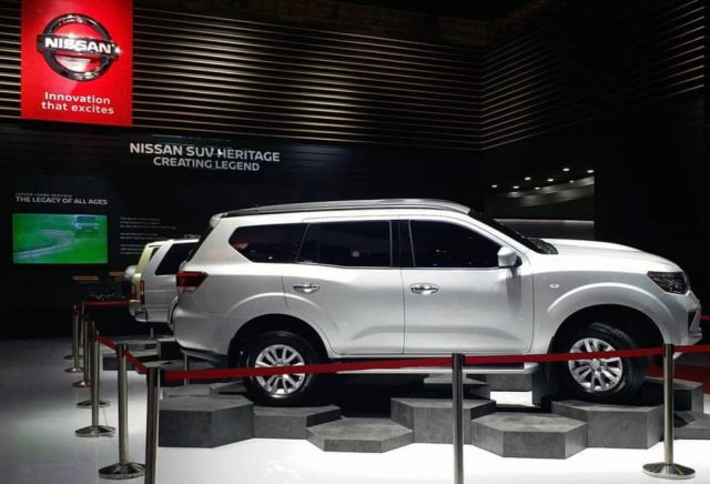 Nissan Terra SUV (Fortuner Rival) Greets Indonesia At GIIAS 2018 4
