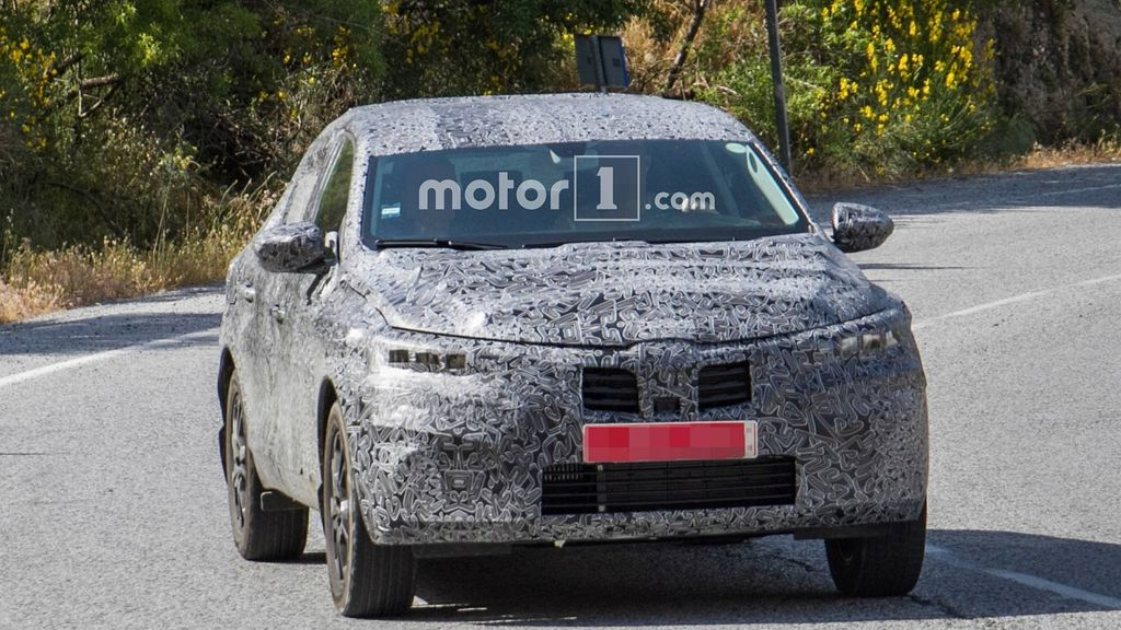 Renault Captur Coupe Crossover Spied