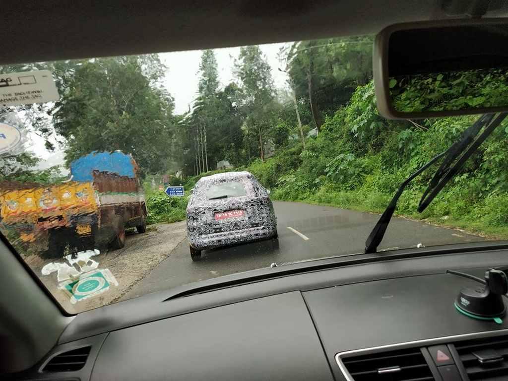 Renault MPV India (Codenamed RBC) 2