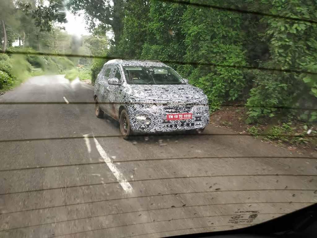 Renault MPV India (Codenamed RBC)