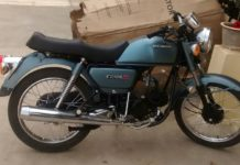 Restored-and-modified-Hero-Honda-CD-100-SS-10