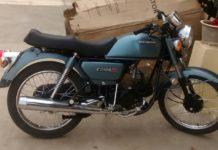 Restored-and-modified-Hero-Honda-CD-100-SS-10