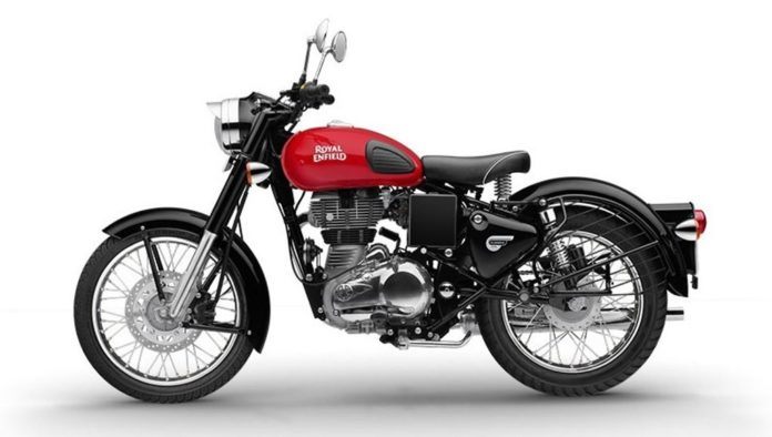 Royal-Enfield-Classic-350-redditch-with-rear-disc-brake-launched-1