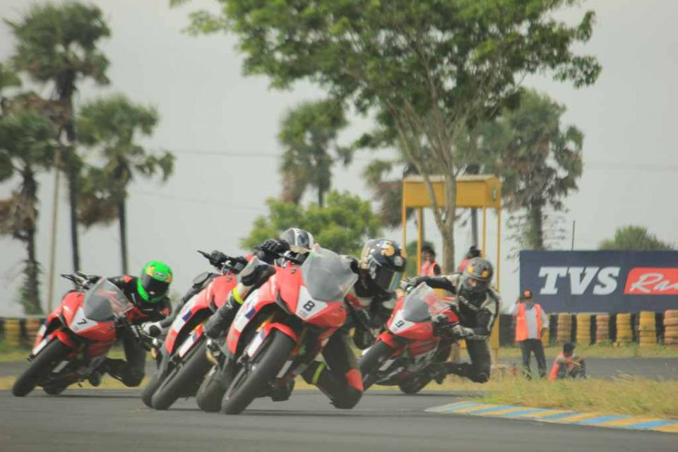 TVS Racing 2018 INMRC TVS One Make Championship RR310