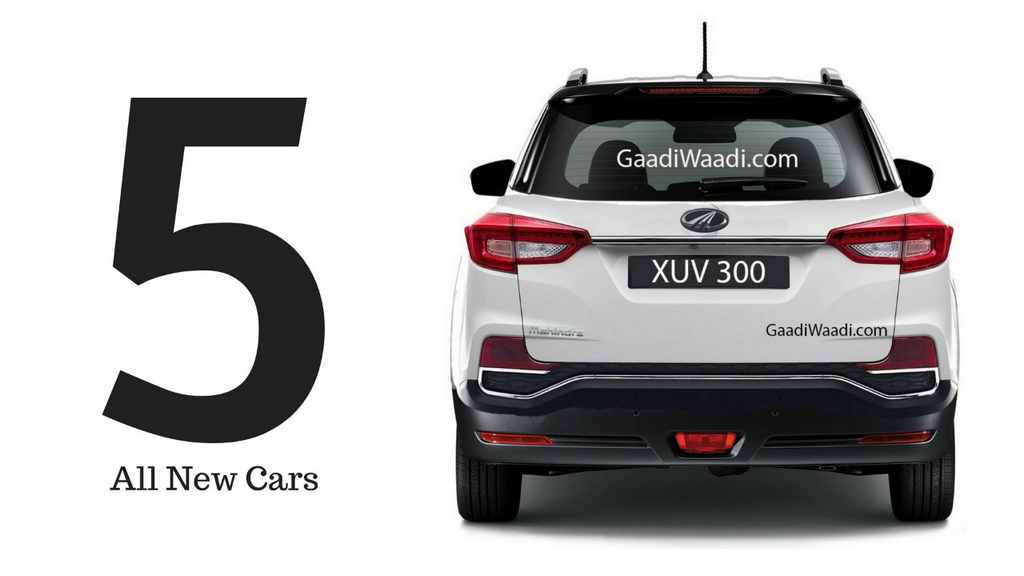Upcoming Subcompact SUVs In India In 2019