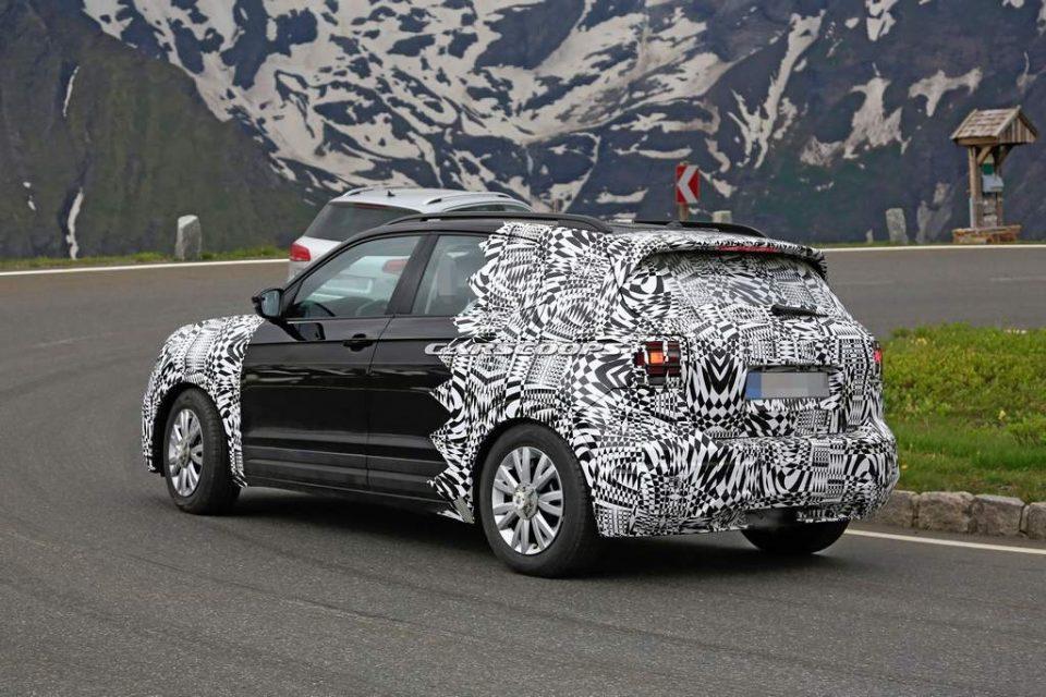 Volkswagen T-Cross Spied 2