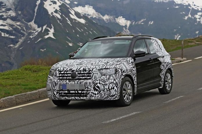 Volkswagen T-Cross Spied