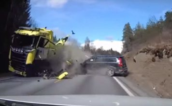 Volvo Truck Accident