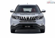 Mahindra-XUV-300-front-rendered
